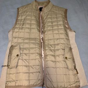 Beige Quilted Vest from Nordstrom Rack